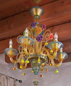 Floral Artistic Chandeliers